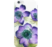 Anemone Posy iPhone Case/Skin