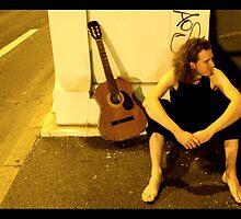 Music man by Kyra  Webb