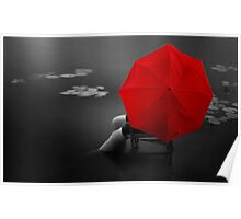 Red Umbrella Poster