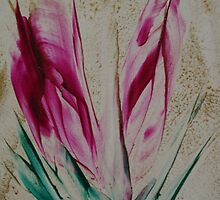 Spring Tulips by Pat O'Neill