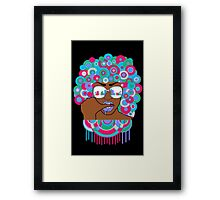 Afro in LA  Framed Print