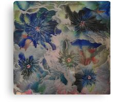 Magical flowers Canvas Print