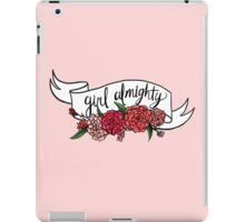 girl almighty iPad Case/Skin