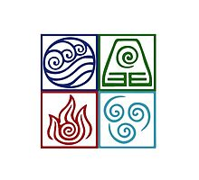 Four Elements Symbol Avatar by Daljo