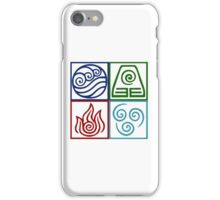 Four Elements Symbol Avatar iPhone Case/Skin