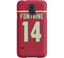 Minnesota Wild Justin Fontaine Jersey Back Phone Case Samsung Galaxy Case/Skin