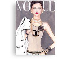 Vogue Paris March 2009 Cover Canvas Print