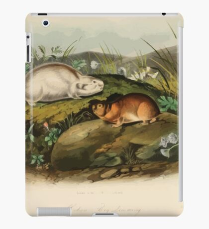 James Audubon - Quadrupeds of North America V3 1851-1854  Hudson's Bay Lemming iPad Case/Skin