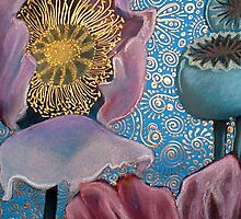 Pink Poppies by Cherie Roe Dirksen