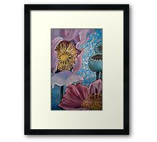 Pink Poppies Framed Print