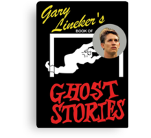Gary Lineker's Book of Ghost Stories Canvas Print