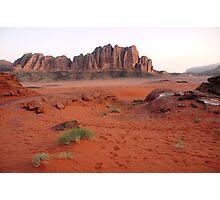 Wadi Rum Jordan Photographic Print