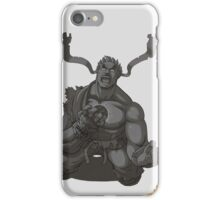 Evil Ryu Greyscale iPhone Case/Skin