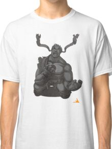 Evil Ryu Greyscale Classic T-Shirt