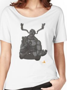 Evil Ryu Greyscale Women's Relaxed Fit T-Shirt