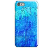 Blue Flowers II iPhone Case/Skin