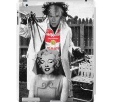 Warhol scissorhands iPad Case/Skin