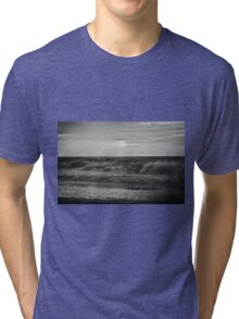 Find Light In The Beautiful Sea (mono) Tri-blend T-Shirt