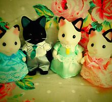 Sylvanian Families ~ Cat Family by Forever Feline