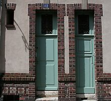 Double Doors by Pascale Baud