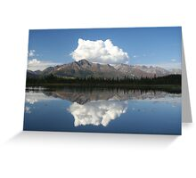 A perfect reflection Greeting Card