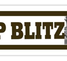 Blitz fanatic Sticker