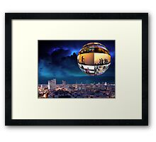 The bubble Framed Print