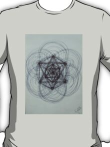 Evolutionary roughly Sketched T-Shirt