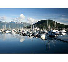 Mountainous bay Photographic Print