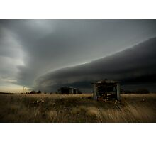Shelf Cloud Approaching Caroline Springs, Victoria Australia Photographic Print