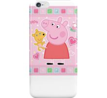 Peppa and her Ted iPhone Case/Skin