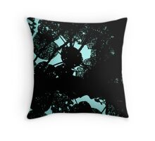 Lace Leaves Throw Pillow