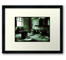 Are you sitting comfortably..? Framed Print