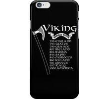 Vikings World Tour - Custom Tshirt iPhone Case/Skin