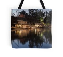 Dusk on The Murray Tote Bag