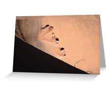 Desert Stone Greeting Card