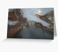 Distorted reality Greeting Card