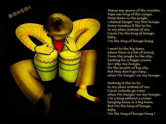 The King Of Bongo by artisandelimage