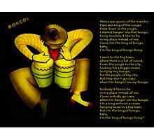 The King Of Bongo Photographic Print