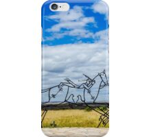 Spirit Warrior Indian Memorial iPhone Case/Skin