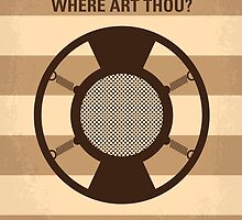 No055 My O Brother Where Art Thou minimal movie poster by JiLong