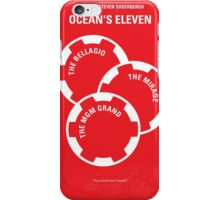 No056 My Oceans 11 minimal movie poster iPhone Case/Skin