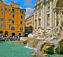 Trevi Fountain by Hughsey