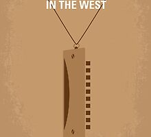 No059 My once upon a time in the west minimal movie poster by JiLong