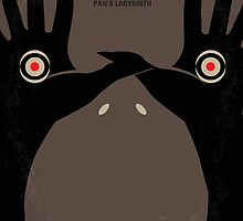 No061 My Pans Labyrinth minimal movie poster by JiLong