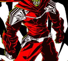 Ninja Slayer Yeeart! Black Kanji Sticker
