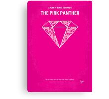 No063 My Pink Panther minimal movie poster Canvas Print