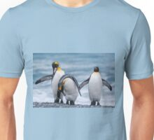 Three King Penguins - South Georgia Unisex T-Shirt