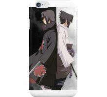 POSTER - Itachi & Sasuke Uchiha iPhone Case/Skin