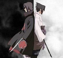 POSTER - Itachi & Sasuke Uchiha by artemys